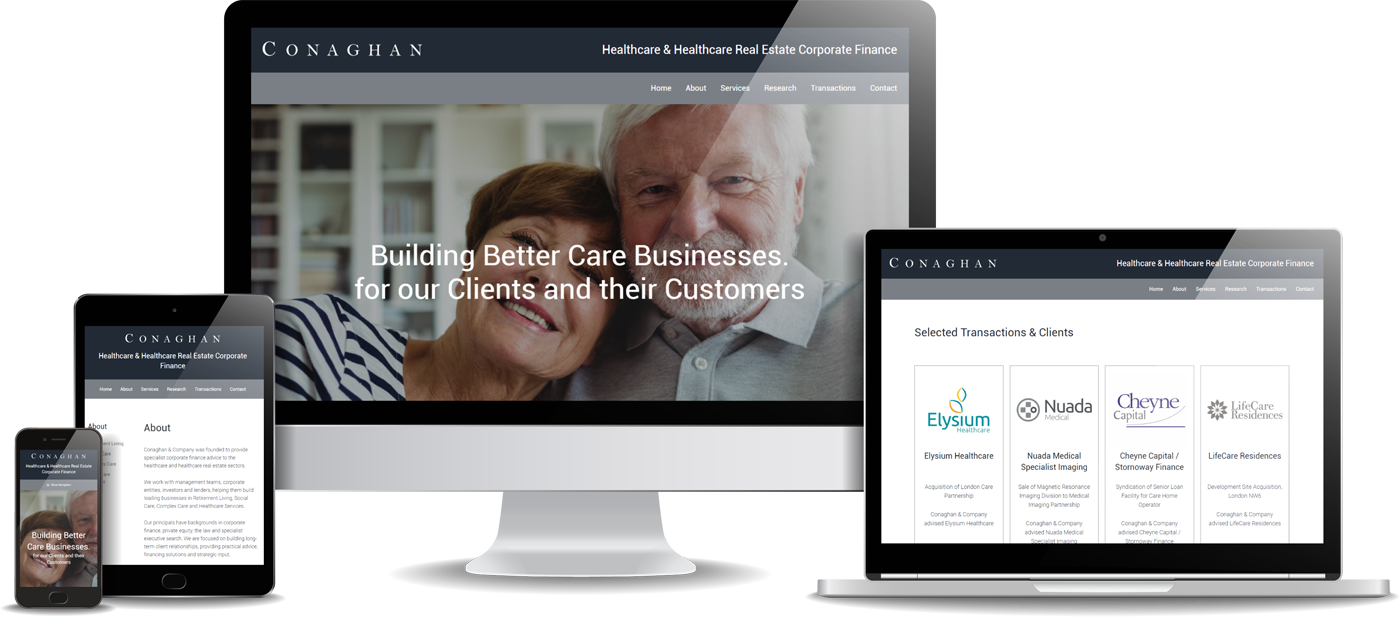 Conaghan & Company Website Design