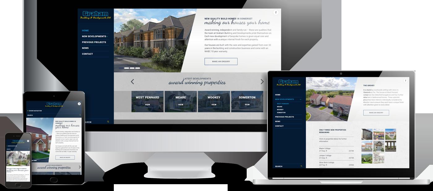Graham Building & Developments Website Design