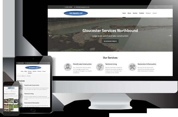 Ivel Aquatics Website Design