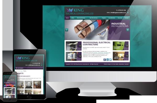 King Electrical Website Design