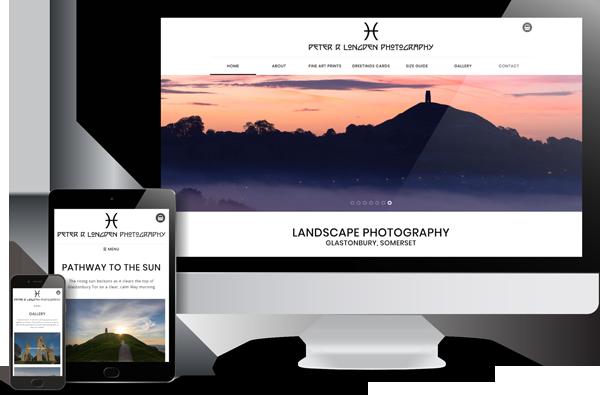 Peter Longden Photography Website Design