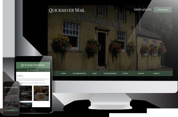 The Quicksilver Mail Website Design