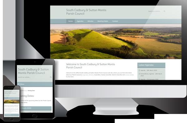South Cadbury & Sutton Montis Parish Council Website Design
